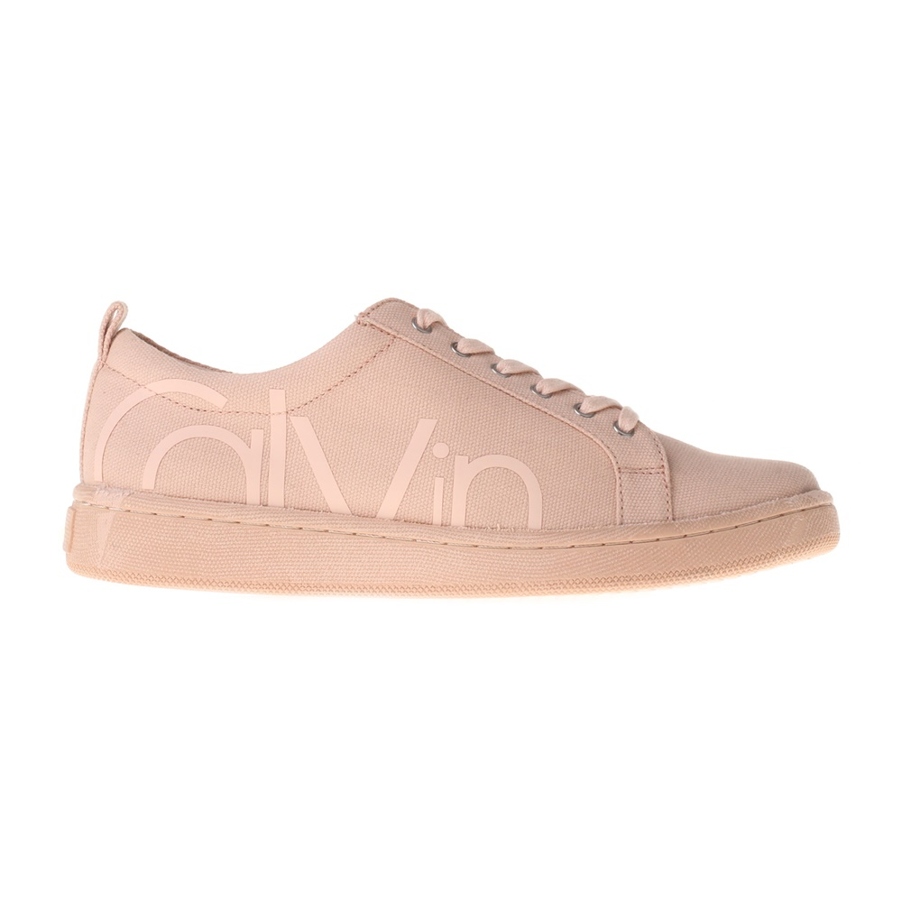 CALVIN KLEIN JEANS – Γυναικεία sneakers CALVIN KLEIN JEANS DANYA 2 μπεζ