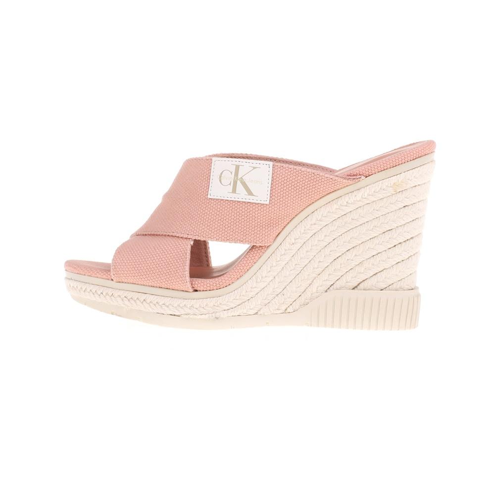 CALVIN KLEIN JEANS – Γυναικείες πλατφόρμες LAYLA CALVIN KLEIN JEANS ροζ
