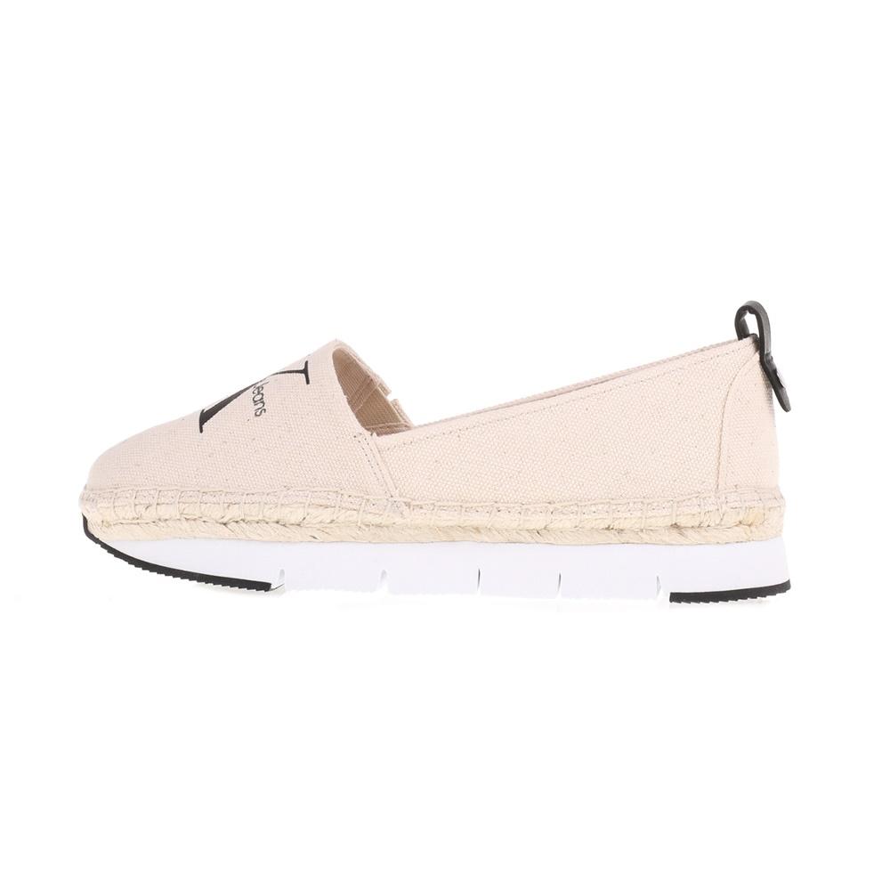 -50% Factory Outlet CALVIN KLEIN JEANS – Γυναικείες εσπαντρίγιες GENNA Calvin  Klein Jeans λευκές 83e01ada013