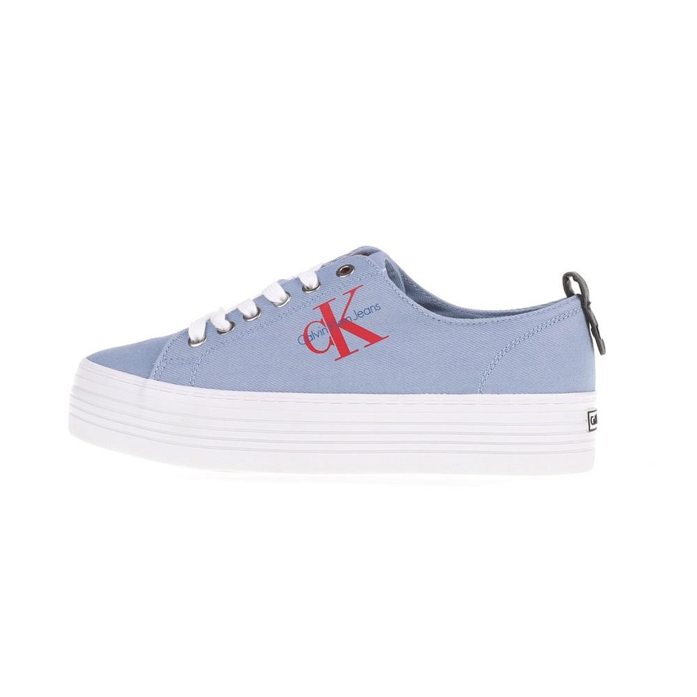 7e63594dfdd -50% Factory Outlet CALVIN KLEIN JEANS – Γυναικεία sneakers ZOLAH CALVIN  KLEIN JEANS γαλάζια