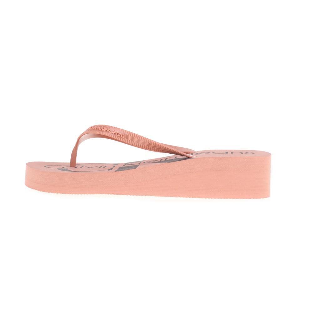 CALVIN KLEIN JEANS – Γυναικείες σαγιονάρες TESSE CALVIN KLEIN JEANS ροζ