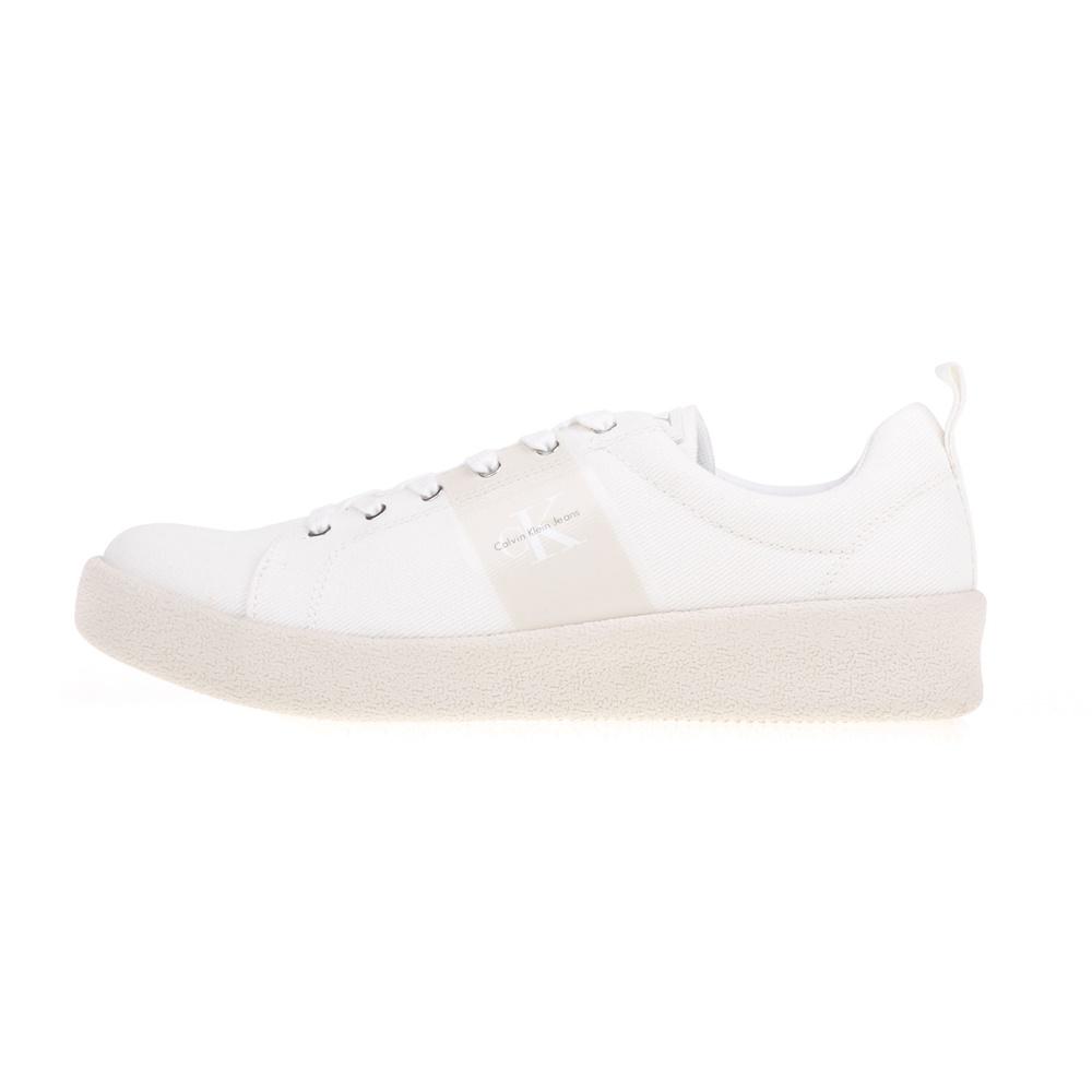 CALVIN KLEIN JEANS – Ανδρικά sneakers GERARDO CALVIN KLEIN JEANS λευκά