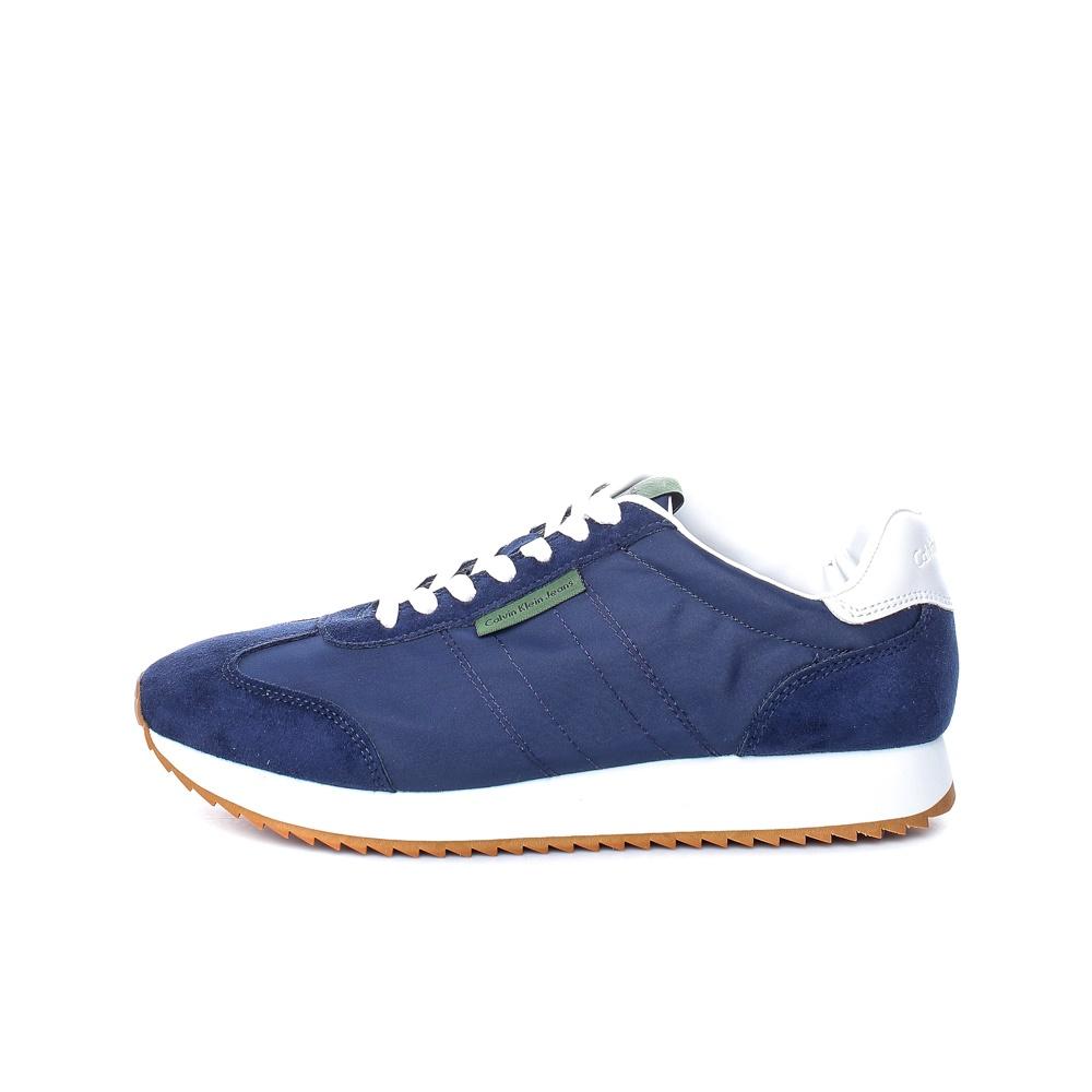 CALVIN KLEIN JEANS – Ανδρικά sneakers CALVIN KLEIN JEANS GRAPH μπλε