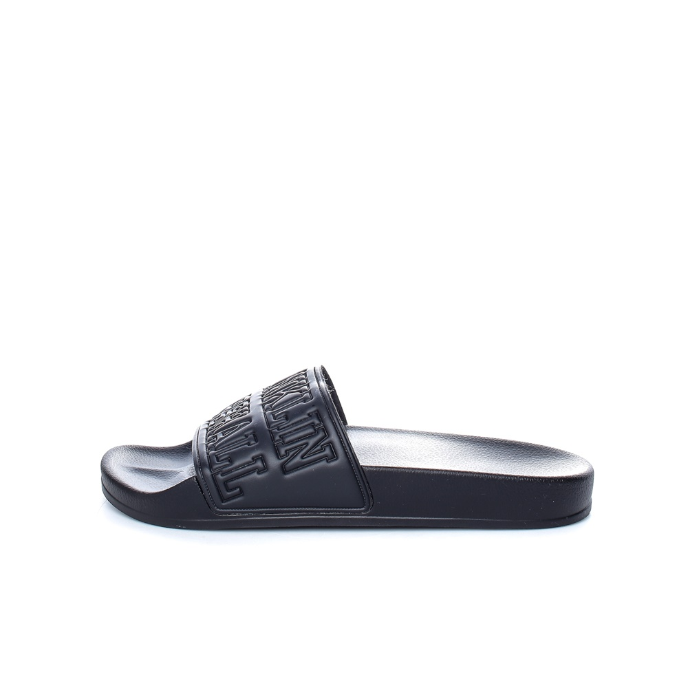 FRANKLIN & MARSHALL – Unisex slides FRANKLIN & MARSHALL μαύρα