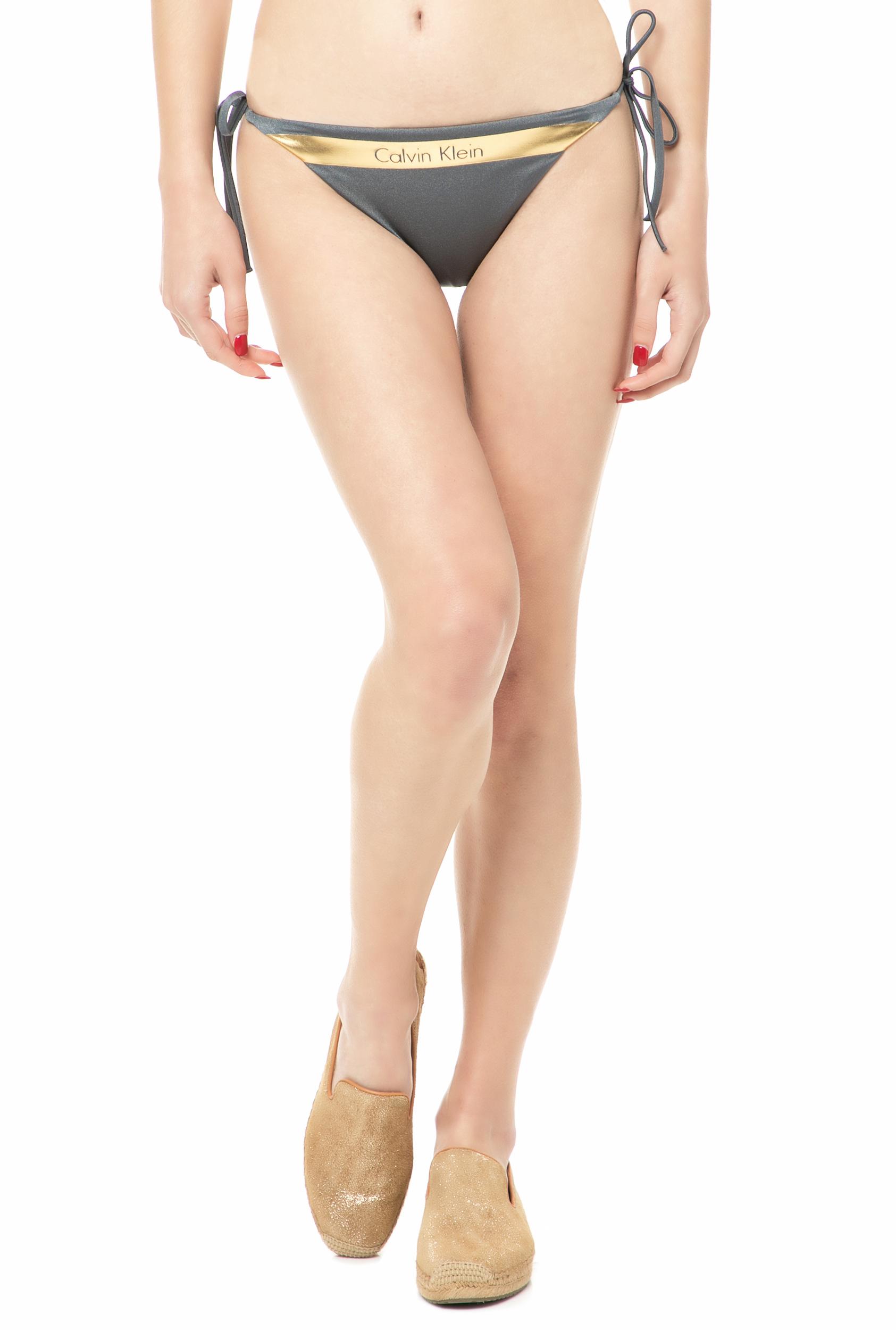 58b2e40400a CK UNDERWEAR - Γυναικείο σλιπ μαγιό CK Underwear CHEEKYγκρι ...