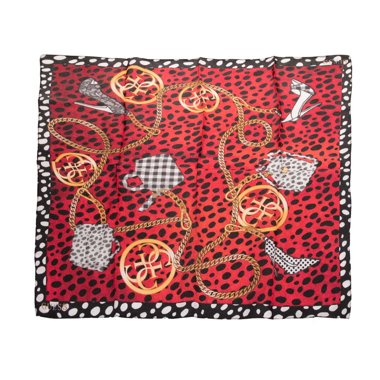 2e7fe5c145 GUESS - Γυναικείο μαντήλι GUESS NOT COORDINATED κόκκινο