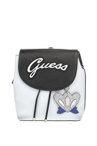 GUESS. Γυναικείο σακίδιο πλάτης Guess VARSITY POP PIN UP ασπρόμαυρο f78434ab40d