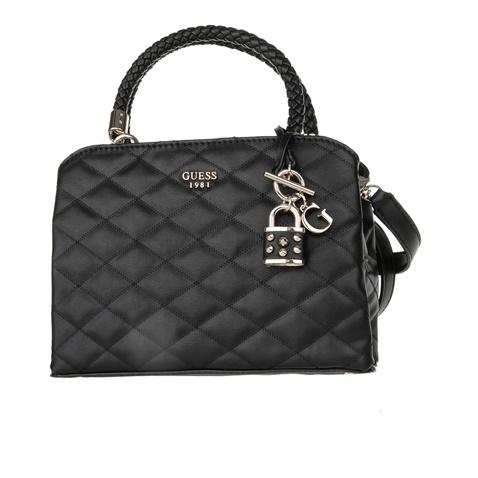 c64cb84f6e Γυναικεία καπιτονέ τσάντα χειρός GUESS PENELOPE SM GIRLFRIEND μαύρη  (1608950.0-0071)