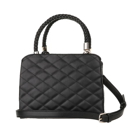33eaee67c8 Γυναικεία καπιτονέ τσάντα χειρός GUESS PENELOPE SM GIRLFRIEND μαύρη ...