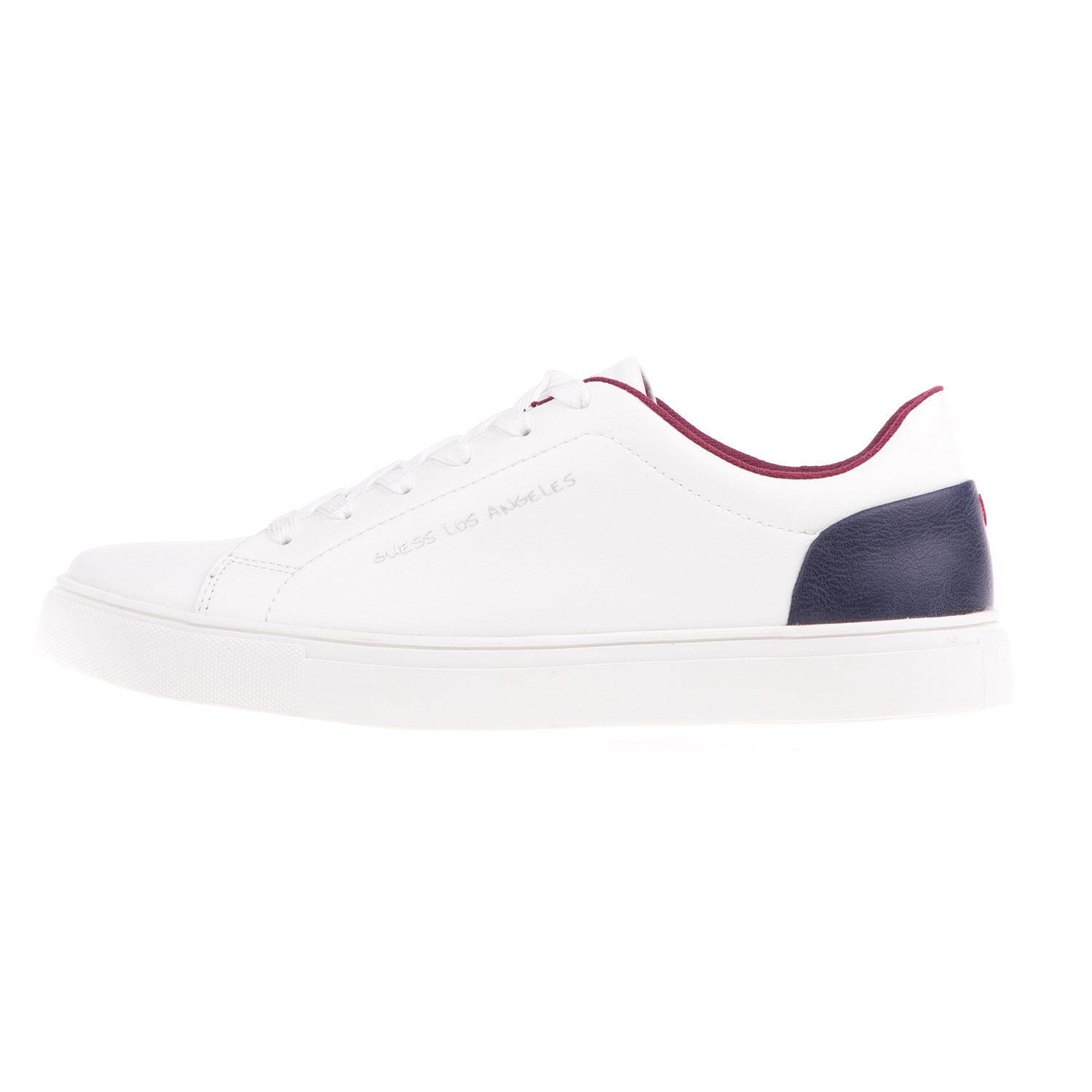 2f5a002ff92 -50% Factory Outlet GUESS – Ανδρικά sneakers GUESS LUISS λευκά