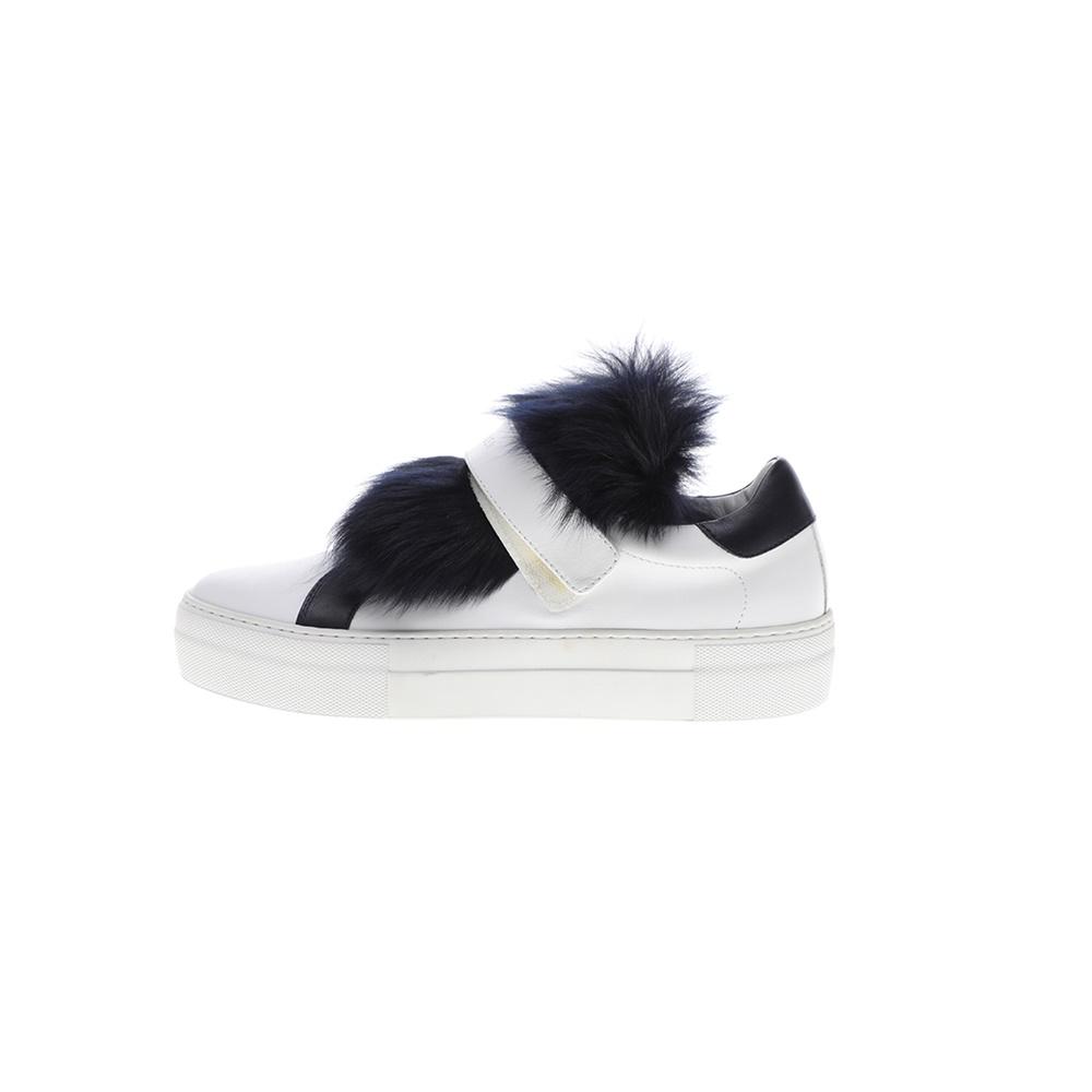 MONCLER – Γυναικεία sneakers MONCLER VICTOIRE ασπρόμαυρα