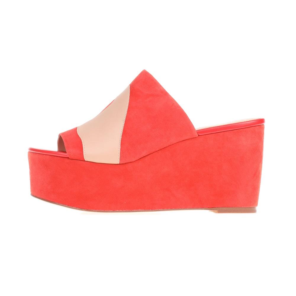 KATY PERRY – Γυναικείες πλατφόρμες THE TRACY κόκκινες