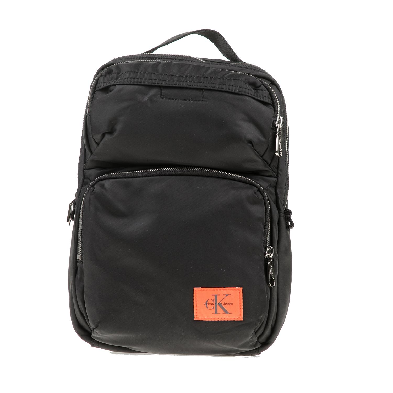 fed194a306 CALVIN KLEIN JEANS – Unisex σακίδιο πλάτης Calvin Klein Jeans PILOT TWILL  SQUARE μαύρο