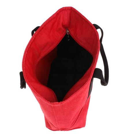 88351a7743 Unisex τσάντα χειρός CANVAS CARRYALL CALVIN KLEIN JEANS κόκκινη ...