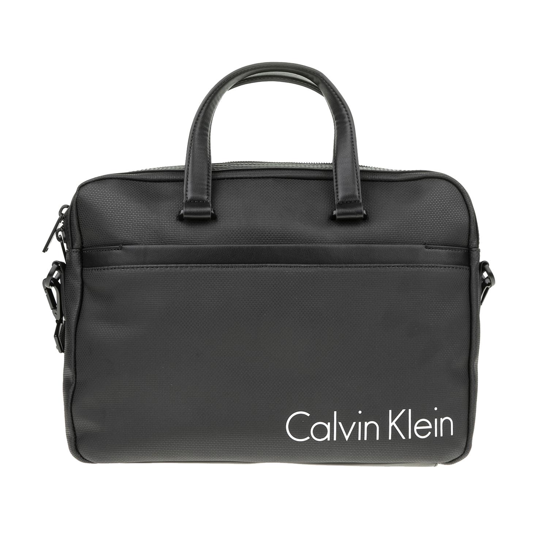 CALVIN KLEIN JEANS - Ανδρική slim laptop τσάντα Calvin Klein Jeans μαύρη