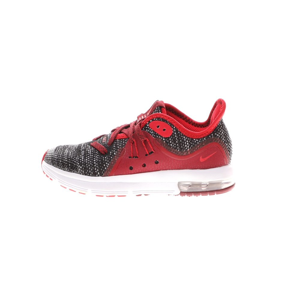 NIKE – Παιδικά παπούτσια NIKE AIR MAX SEQUENT 3 (PS) κόκκινα μαύρα