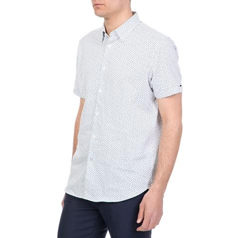 7222c075ec51 Ανδρικό κοντομάνικο πουκάμισο NARNAR TED BAKER λευκό-μπλε (1612259.0 ...