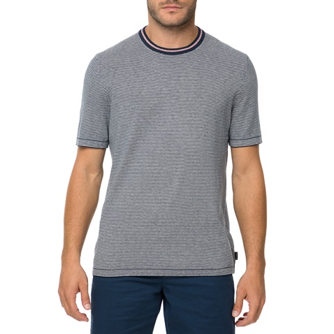 Ανδρική ριγέ κοντομάνικη μπλούζα TED BAKER TIME μπλε (1612303.0-001e ... 96419a205ba
