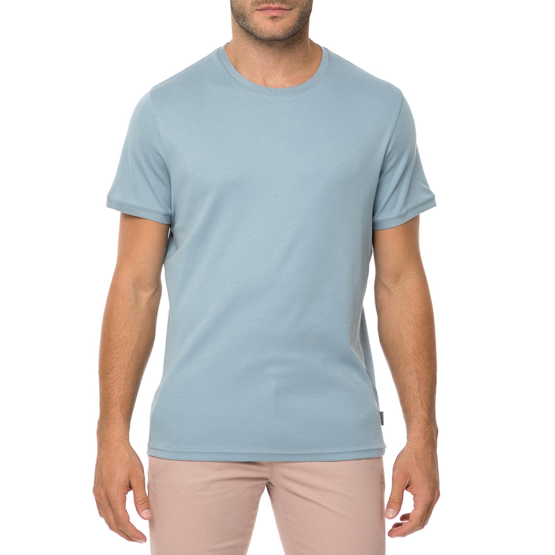 32cfe257a7d0 TED BAKER - Ανδρική κοντομάνικη μπλούζα TED BAKER PIK γαλάζια