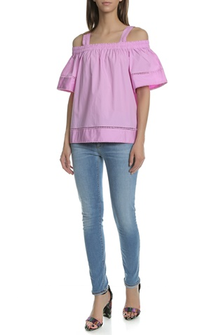 TED BAKER-Γυναικεία μπλούζα TED BAKER ροζ