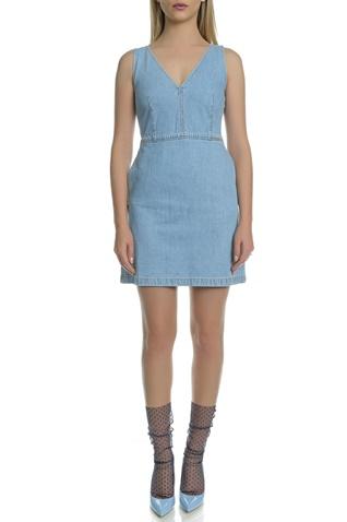 ac542712a041 Γυναικείο μίνι τζιν φόρεμα Calvin Klein Jeans μπλε (1613025.0-0021 ...