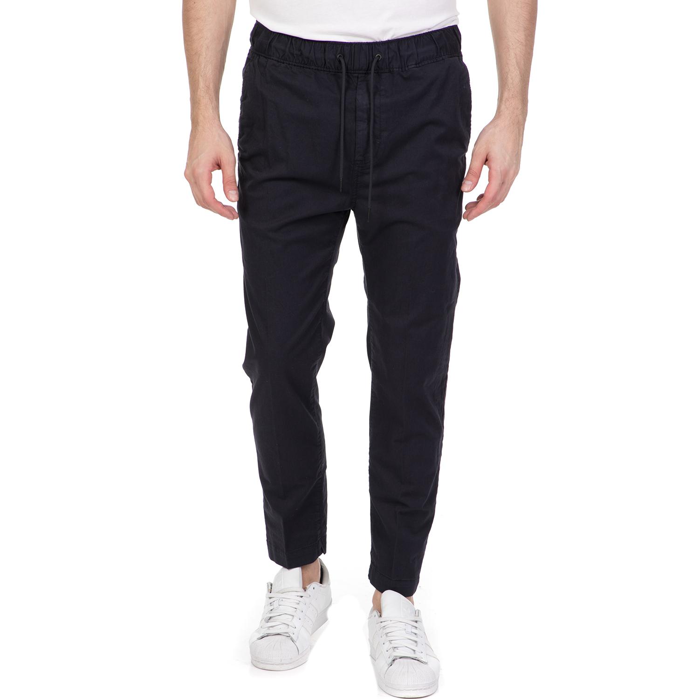 CALVIN KLEIN JEANS - Ανδρικό παντελόνι CALVIN KLEIN JEANS μπλε ανδρικά ρούχα παντελόνια ισια γραμμή