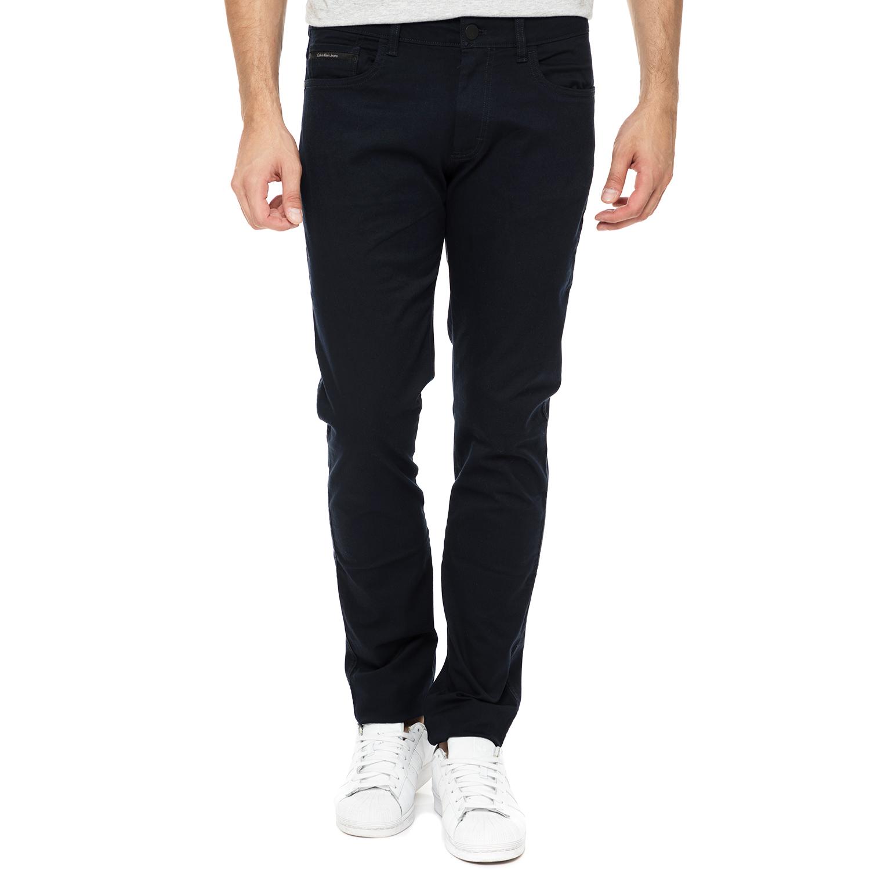 CALVIN KLEIN JEANS - Ανδρικό παντελόνι Calvin Klein Jeans GERST 2 SLIM STRAIGHT  ανδρικά ρούχα παντελόνια ισια γραμμή