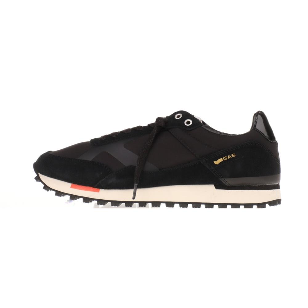 GAS – Ανδρικά sneakers GAS BORA NYX μαύρα