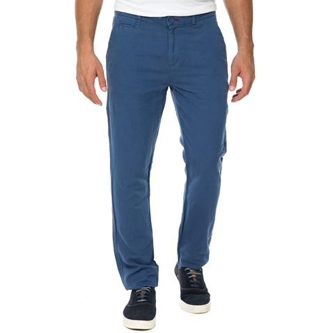 Ανδρικό λινό παντελόνι chino GUESS ALAIN SLIM STRAIGHT μπλε  (1613498.0-0013)  ec284ee1296