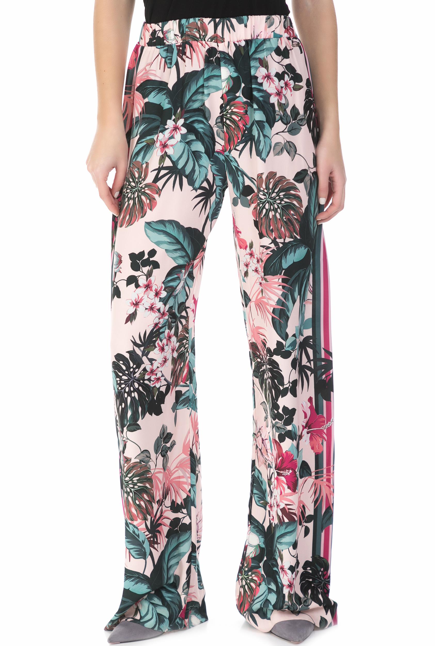 c97b65599d1c GUESS - Γυναικεία παντελόνα ERNESTINE PANTS GUESS φλοράλ
