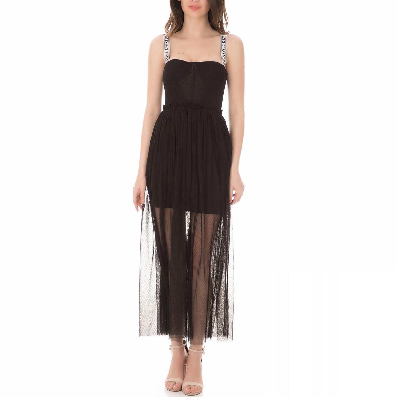 1f53cdc0e4f7 GUESS - Γυναικείο μίνι φόρεμα GUESS JENNIFER μαύρο