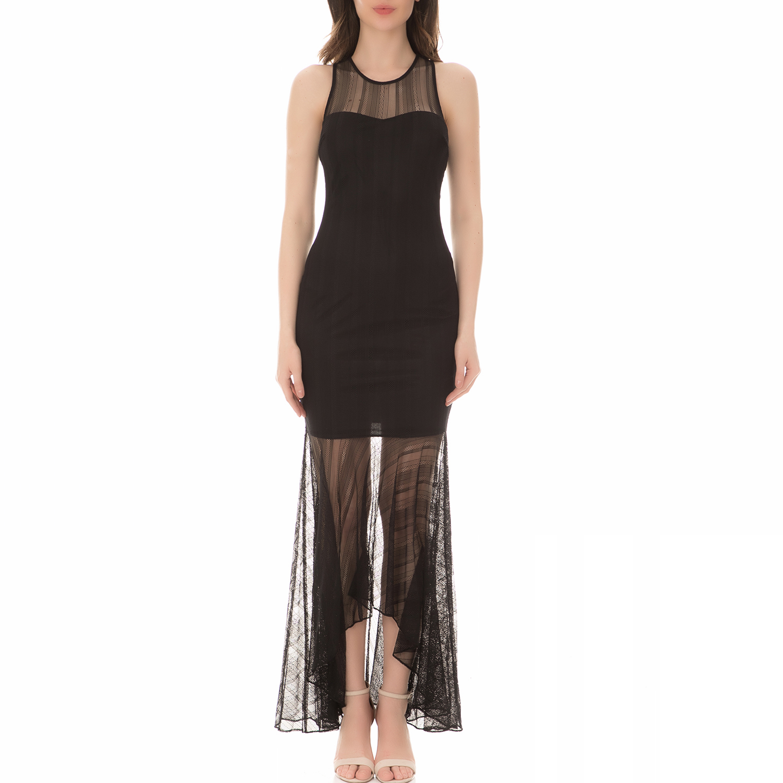 072be04288e GUESS - Γυναικείο μίνι φόρεμα GUESS GISELLE μαύρο
