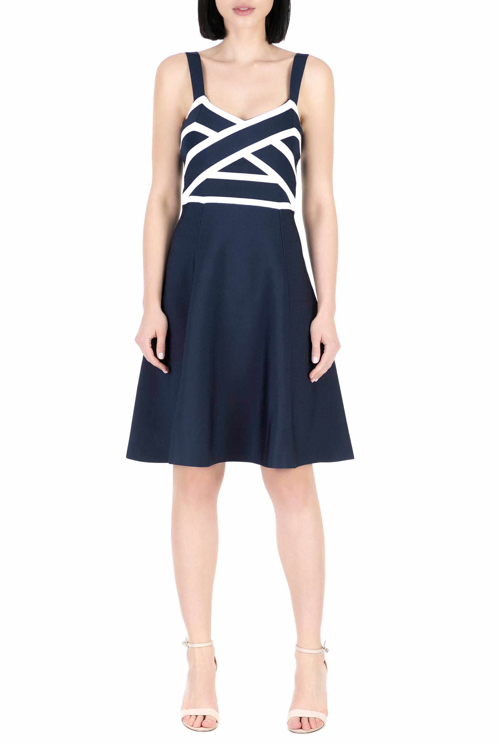 GUESS - Γυναικείο μίνι φόρεμα GUESS INES μπλε 63a7a199651