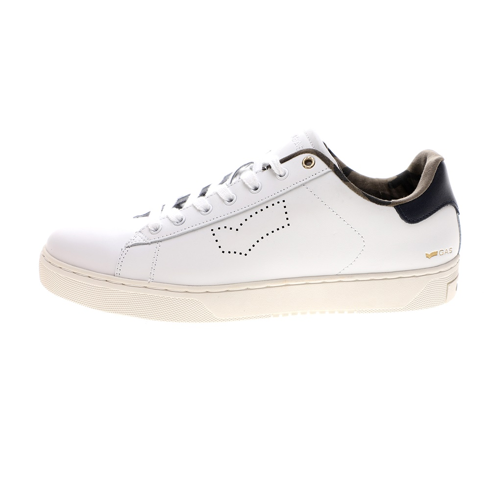 GAS – Ανδρικά sneakers GAS RUSS LTH λευκά μπλε