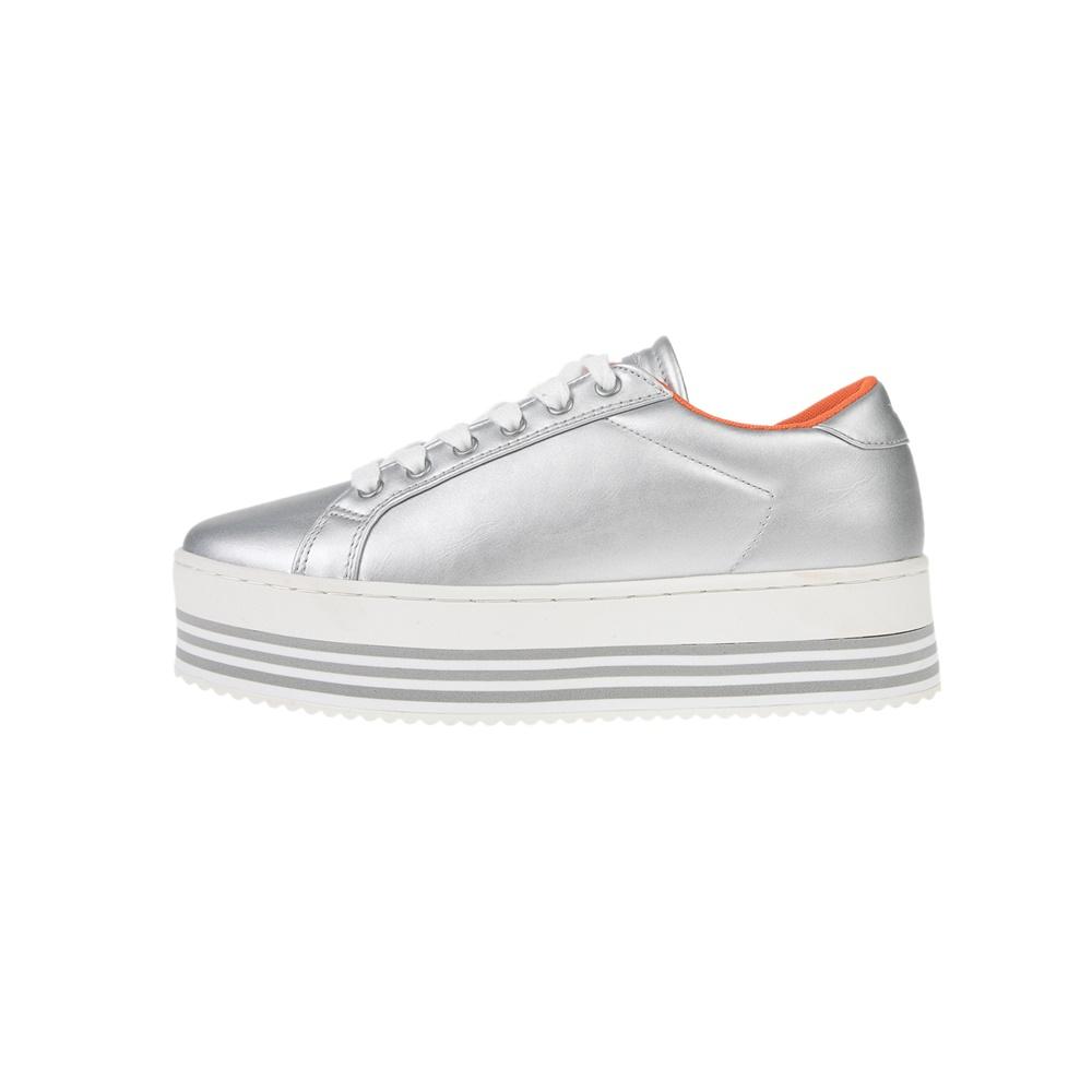 GAS – Γυναικεία sneakers GAS BESSY ασημί