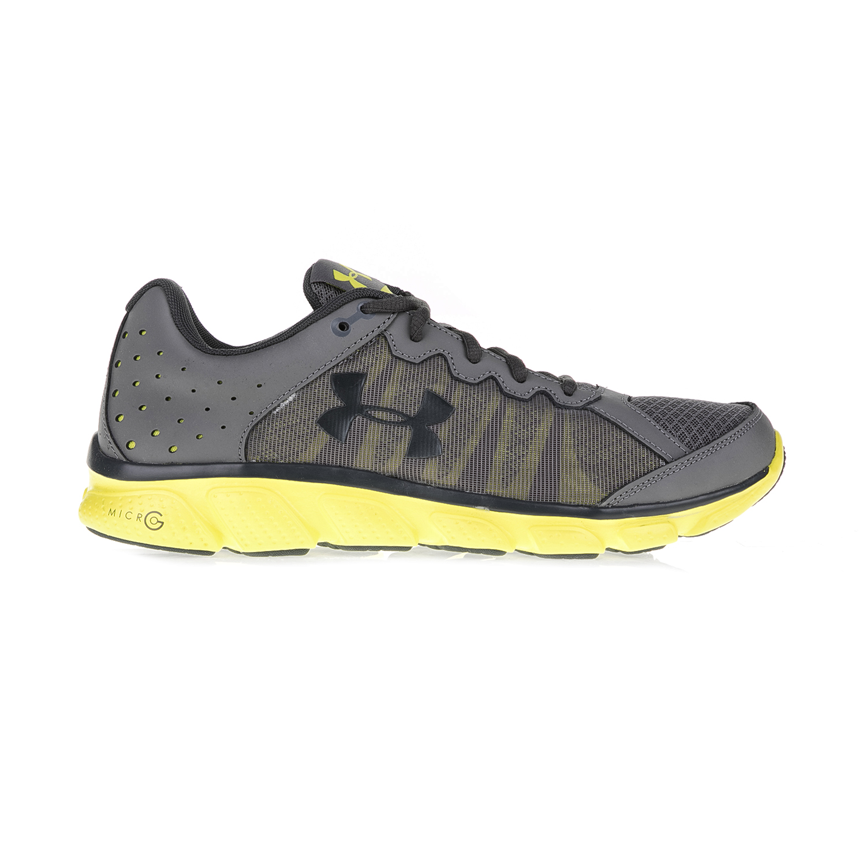 UNDER ARMOUR – Ανδρικά αθλητικά παπούτσια UNDER ARMOUR Micro G Assert 6 FO γκρι-κίτρινα