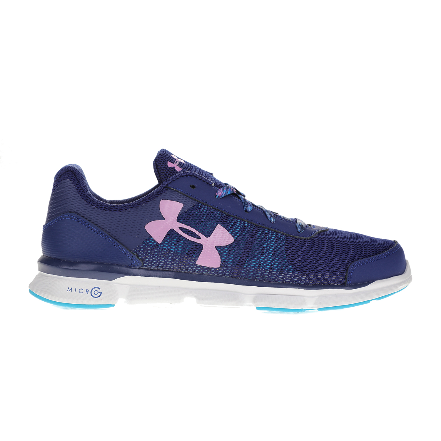 80439d2caa9 UNDER ARMOUR – Παιδικά αθλητικά παπούτσια UNDER ARMOUR GGS MICRO G SPEED S  μπλε