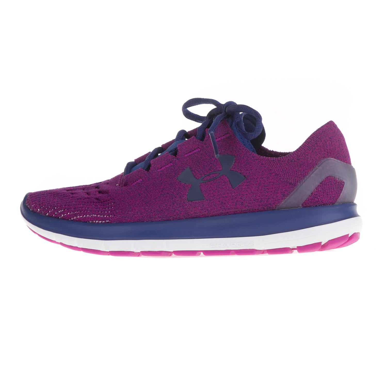 f50654809ec UNDER ARMOUR – Γυναικεία αθλητικά παπούτσια UNDER ARMOUR SPEEDFORM  SLINGRIDE μπλε