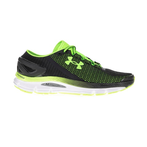 5abc3f128f7 Ανδρικά αθλητικά παπούτσια UNDER ARMOUR SPEEDFORM GEMINI 2 μαύρα-πράσινα  (1615802.0-0011) | Factory Outlet