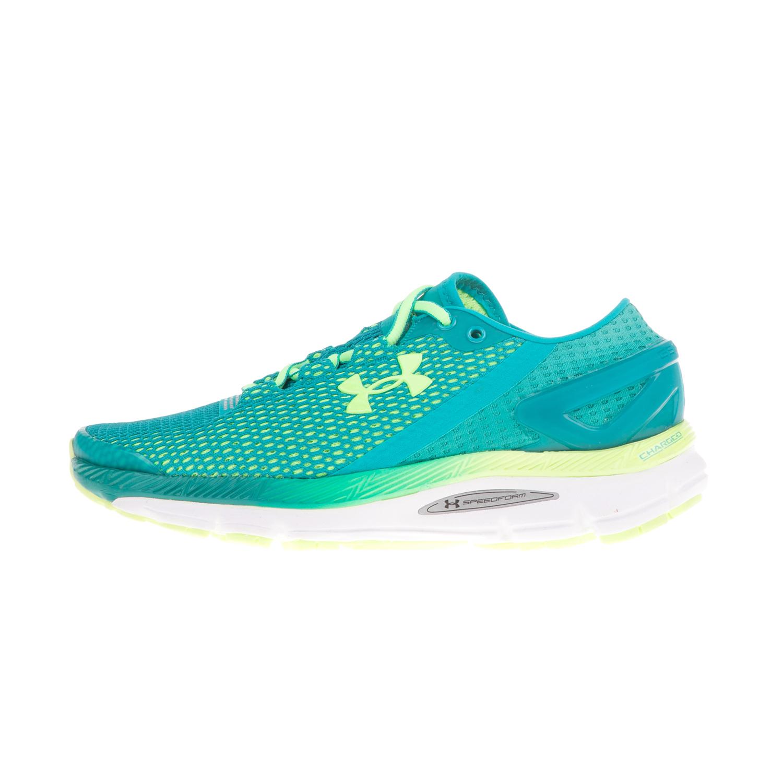 3c7b7383e6c UNDER ARMOUR – Γυναικεία αθλητικά παπούτσια UNDER ARMOUR SPEEDFORM GEMINI  μπλε-κίτρινα
