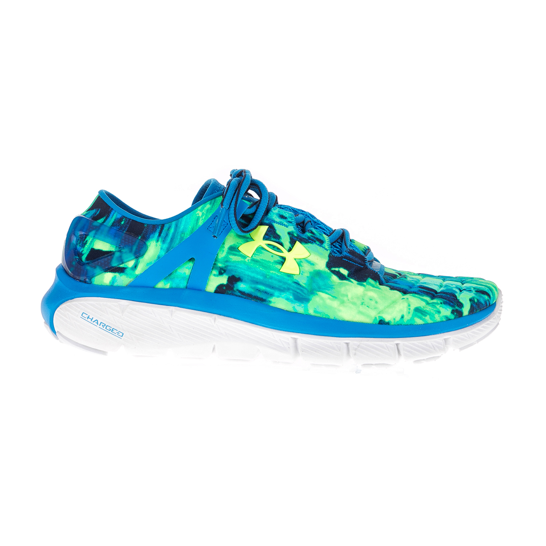 98bf7d7b60c UNDER ARMOUR - Γυναικεία αθλητικά παπούτσια UNDER ARMOUR SPEEDFORM FORTIS  πράσινα-μπλε