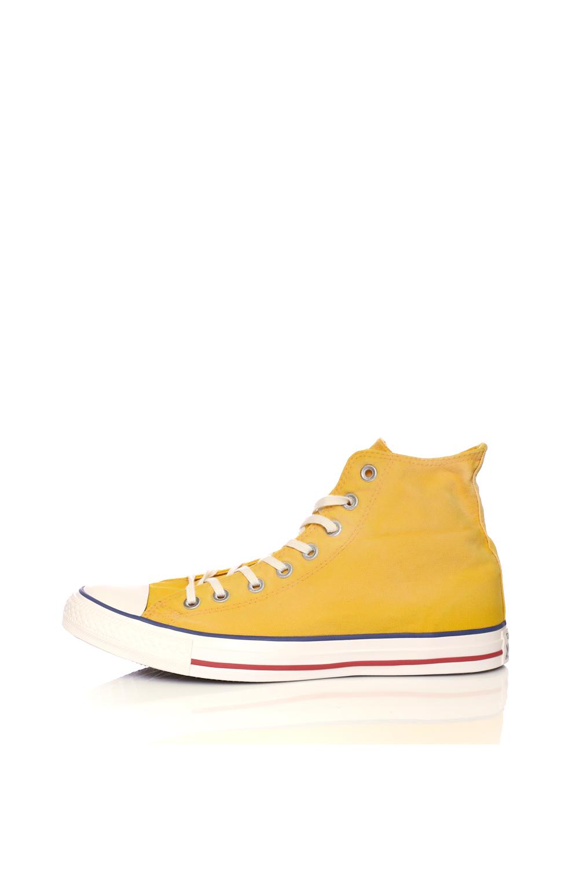 CONVERSE – Unisex μποτάκια CHUCK TAYLOR ALL STAR κίτρινα