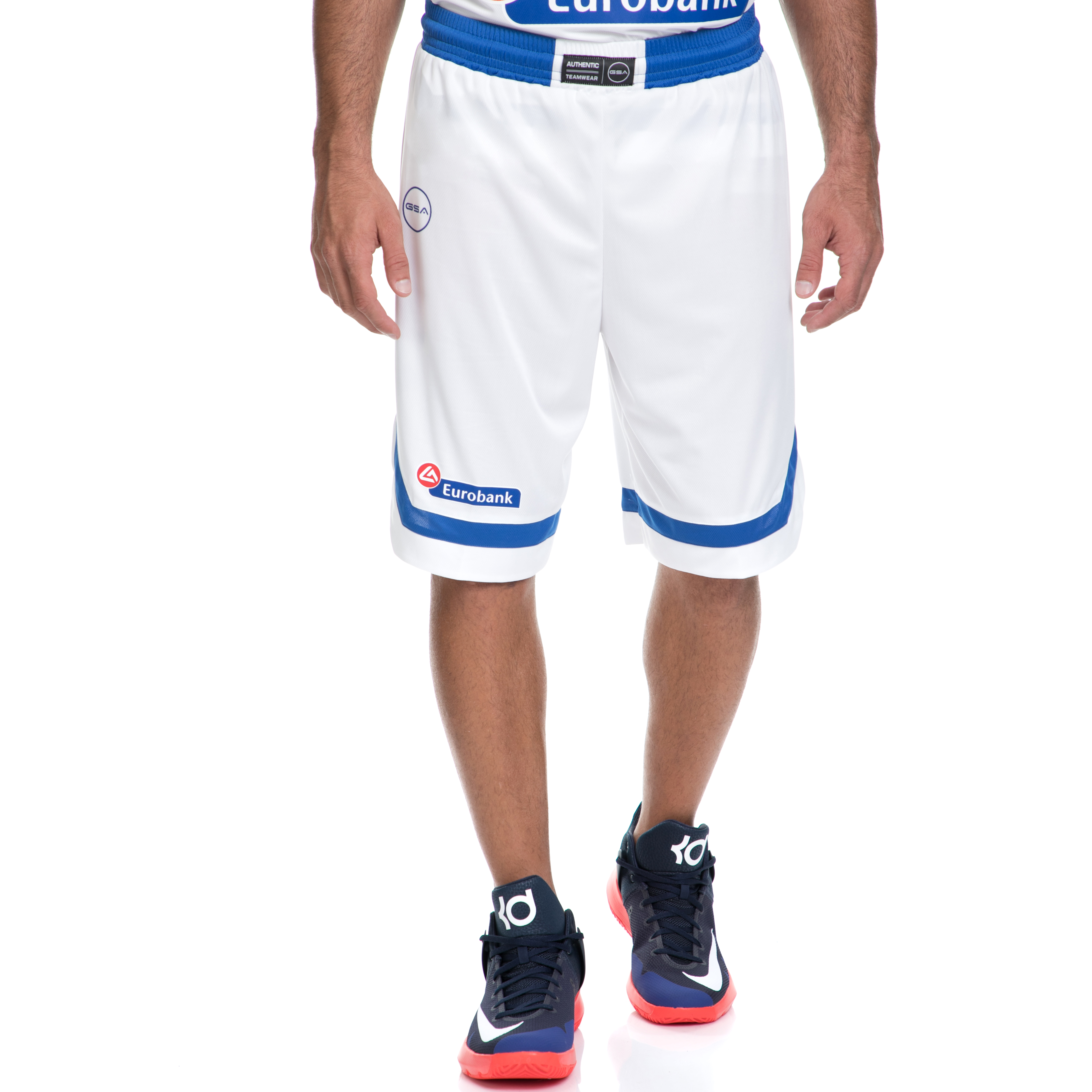 GSA - Ανδρική βερμούδα της Εθνικής Ελλάδος Basket GSA λευκή