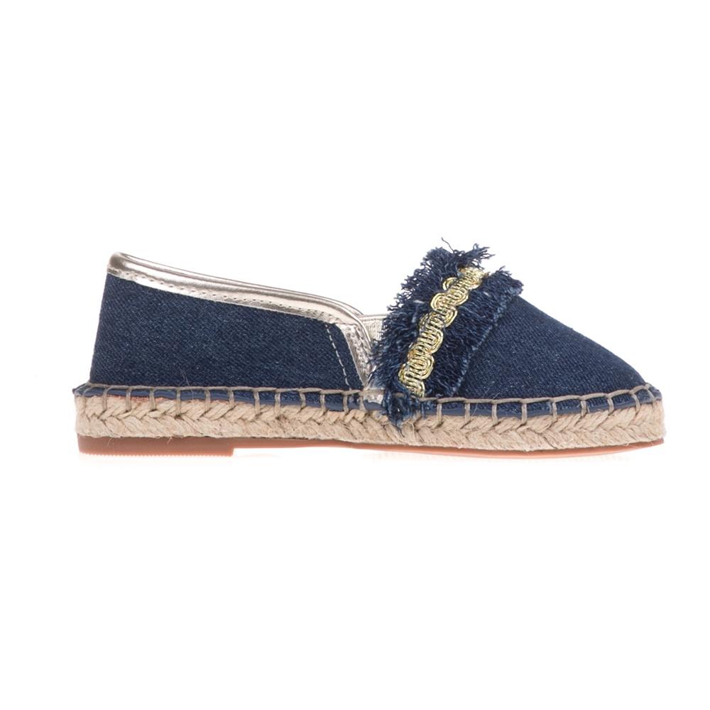 GUESS KIDS - Κοριτσίστικες τζιν εσπαντρίγιες GUESS KIDS RACHEL μπλε παιδικά girls παπούτσια εσπαντρίγιες slip on