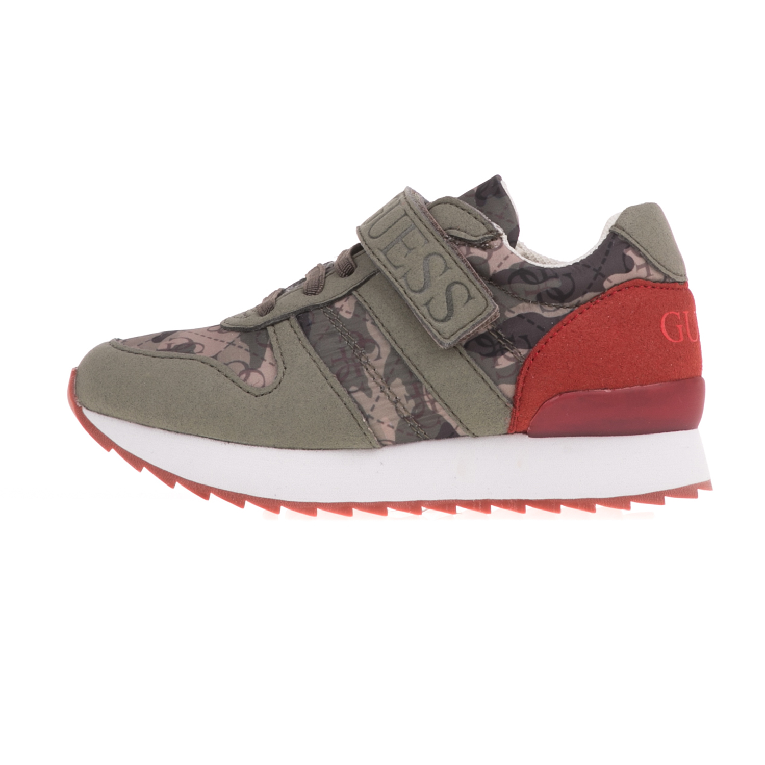 92daf707855 -49% Factory Outlet GUESS KIDS – Αγορίστικα sneakers GUESS KIDS RUDY χακί