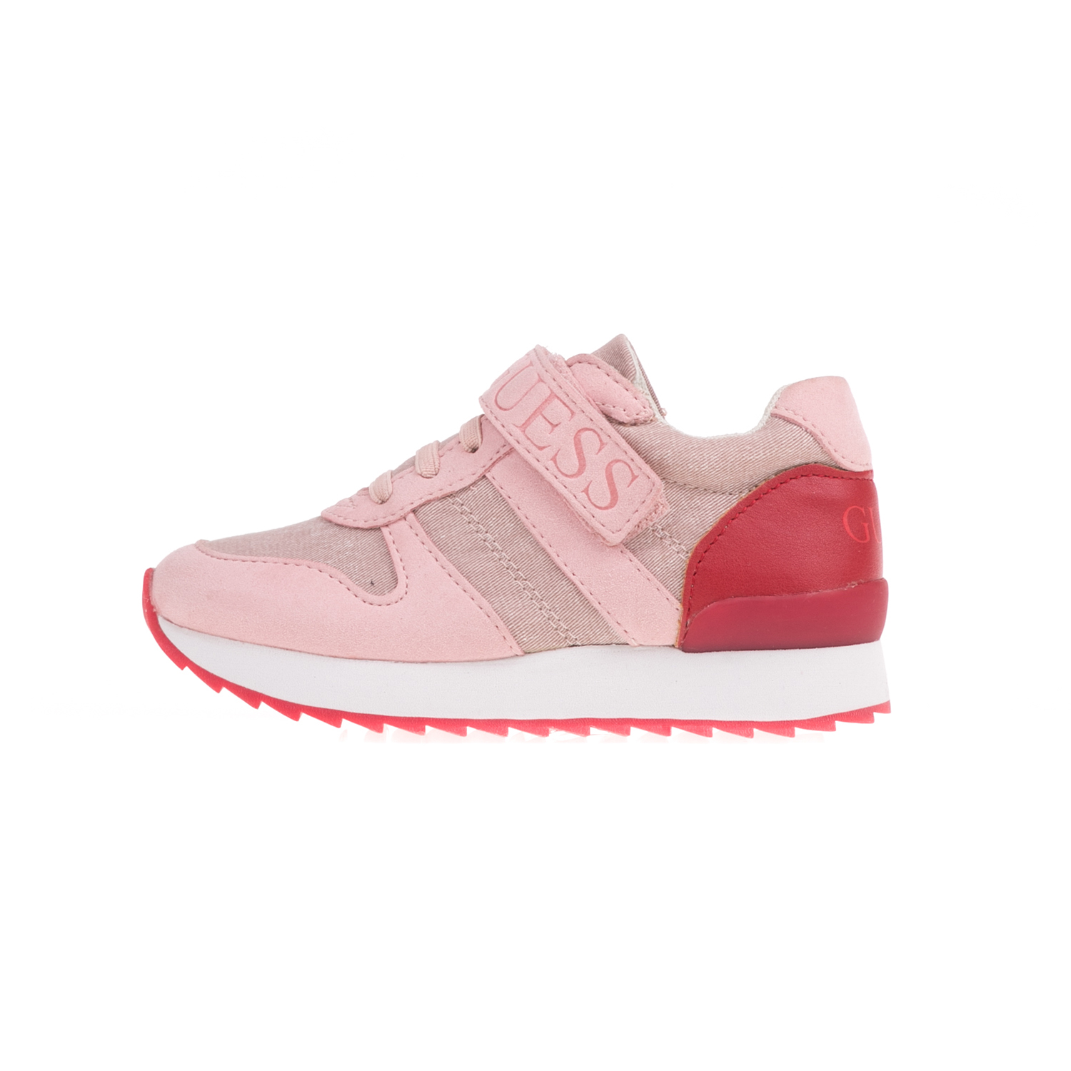 GUESS KIDS - Κοριτσίστικα sneakers GUESS KIDS RUDY ροζ παιδικά boys παπούτσια sneakers