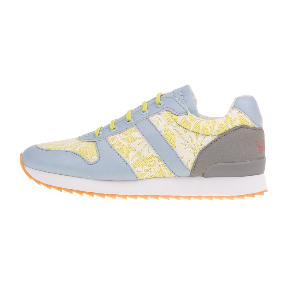 e0c877cc71b -49% Factory Outlet GUESS KIDS – Κοριτσίστικα sneakers GUESS KIDS REBECCA  μπλε-κίτρινα