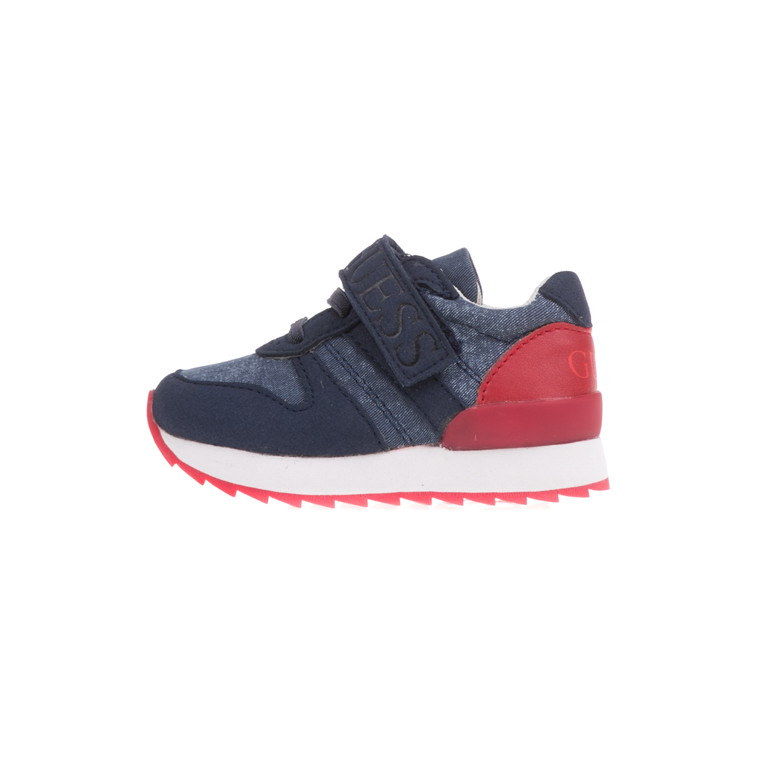 GUESS KIDS – Βρεφικά sneakers GUESS KIDS RUDY μπλε