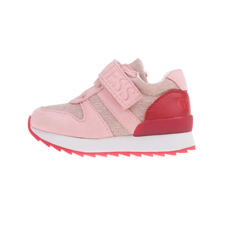 GUESS KIDS – Βρεφικά sneakers GUESS KIDS RUDY ροζ