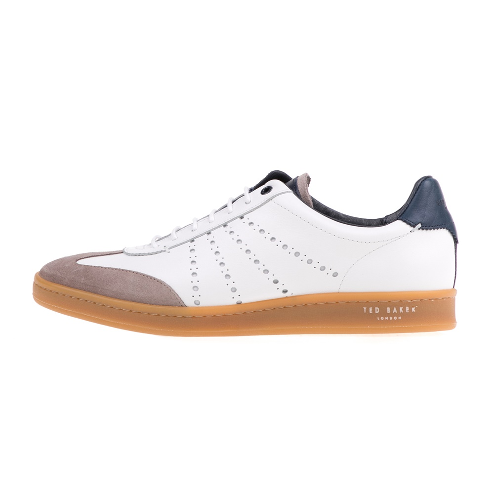 5b89a3b615c -30% Factory Outlet TED BAKER – Ανδρικά sneakers TED BAKER ORLEEM λευκά